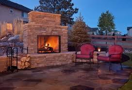 backyard fireplace ideas backyard