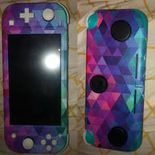 New Decal For My Teal Switch Lite Complete With 2 Mini Pop Sockets And A Tile Sticker In Love Switchlite