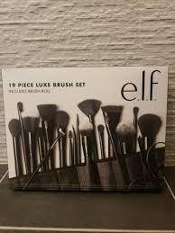 e l f cosmetics 19 piece luxe brush set