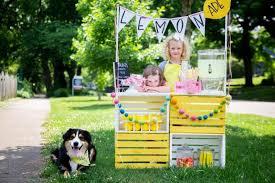 portable lemonade stand for kids