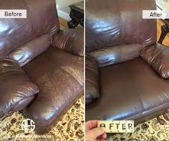leather chair wear and tear