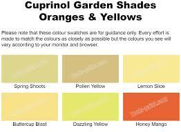 Cuprinol Garden Shades Oranges Yellows 2 5l