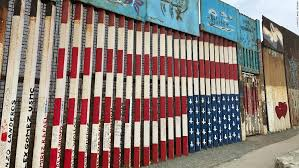 Deported Vets Helped Paint This Upside Down Us Flag On The Border Will They Have To Remove It Cnn