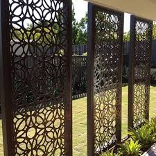 Decorative Laser Cut Aluminum Garden Fences Gates Buy Laser Cut Steel Panels Stainless Outdoor Gates Metal Room Divider Wall Product On Alibaba Com
