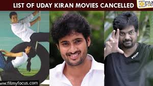 10 Crazy Projects of Uday Kiran that were Shelved or Stopped! - Filmy Focus