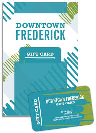 downtown gift card downtown frederick