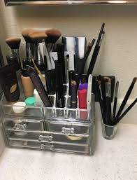 people swear by this 14 makeup organizer