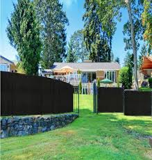 Boen 5 Ft X 50 Ft Green Privacy Fence Screen Netting Mesh With Reinforced Grommet For Chain Link Garden Fence Pn 30067 The Home Depot