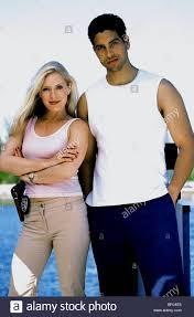 EMILY PROCTER, ADAM RODRIGUEZ, CSI: MIAMI, 2002 Stock Photo - Alamy