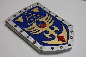 blue fighter s shield from link to the