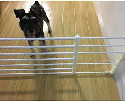 Retractable Pet Gate Dog Sliding Door Indoor Dog Gate Doorway Stairs Puppy Safety Fence Height 24cm Color Height 24cm Size Length 75 120cm Amazon Co Uk Kitchen Home