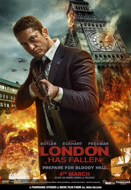 London Has Fallen (2016) BRRip 480p 720p 1080p Dual Audio ( Hindi DD 5.1 + English) x264 & Hevc 10bit
