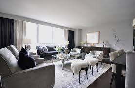 decorating with mirrored furniture in