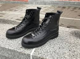 mens black leather boots mens ankle