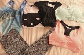 new workout clothes make me happy some