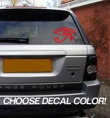 Eye Of Horus 4 Vinyl Sticker Decal Car Window Bumper Laptop Psychic Symbol Sign Ebay