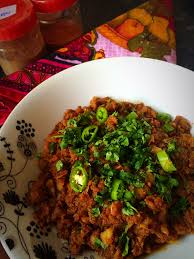 Minced Fish Curry/Fish Keema - Fatima Cooks