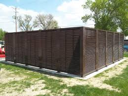 Louvered Fence Systems Faq American Fence Company Lincoln Ne