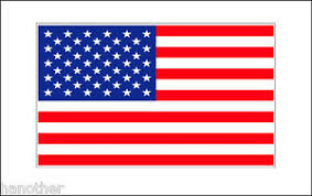 Super Large American Flag Decal Sticker 50 X 28 High Quality Outdoor Durable Ebay