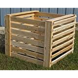 Amazon Com Greenes Fence Rccomp36 Cedar Composter 23 25 Cu Ft 173 92 Gallons Natural Garden Outdoor