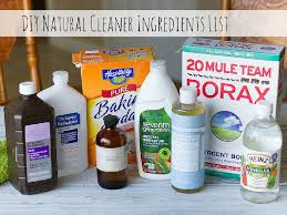 homemade natural cleaner ings