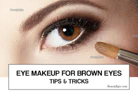 eye makeup for brown eyes tips and tricks