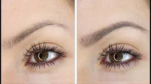 eyebrows for a natural appearance