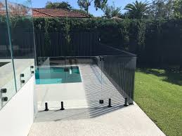 Aluminium And Glass Pool Fencing Combined Fence Spot