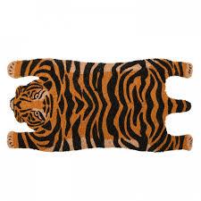 tiger doormat door mat coir coconut