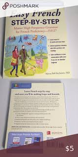 SOLD* Easy French Step-by-Step by Rochester in 2020 | Conversation skills,  How to gain confidence, Learn french