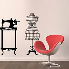 Wall Decals Sewing Machine Mannequin From Amazon