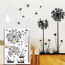 Shop 50 70cm Beautiful Dandelion Wall Stickers Living Room Bedroom Dream Of Flying Wall Sticker Home Decor Sticker On The Wall Decals Online From Best Bed Pillows On Jd Com Global Site Joybuy Com