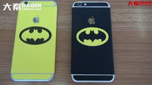 Batman Cell Phone Decal Making And Applying Process Youtube