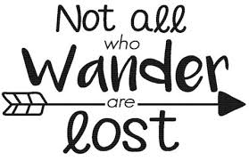 Not All Who Wander Are Lost Decal Car Accessory Car Decal Car Fox Scout Designs