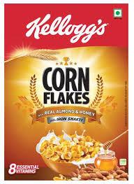 kelloggs corn flakes almond honey