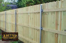 Wood Fence Styles A Better Fence Company Types Of Wood Fences