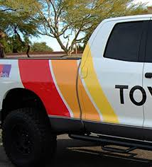 Product 2 Side Old School Toyota Tundra Graphics Vinyl Decals Stickers