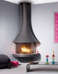 corner freestanding fireplace google