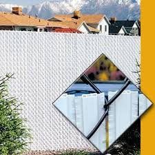 Pds Winged Pvc Privacy Slats For 2 Chain Link Fences