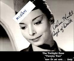 Arlene Martel as a Stewardess from The Twilight Zone Autographed ...