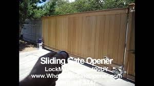 ac1300 solar full kit sliding gate opener
