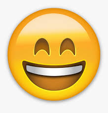 happy emoji night open mouth smiling