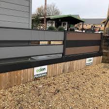 Composite Fencing Forevertimber Garden Rooms Log Cabins Summer Houses Verandas