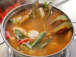 Tom Yum Seafood Soup | Recipe