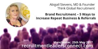 Think Global Recruitment - Our Managing Director is back at Recruitment  Leaders Connect!