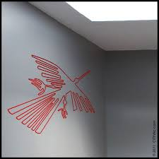 Nazca Wall Decal The Flying Condor Lines From Nazca By Citystic 15 00 Wall Decals Star Wars Decal Nazca