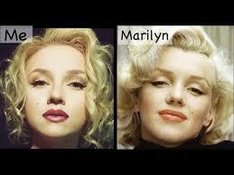 marilyn monroe makeup transformation