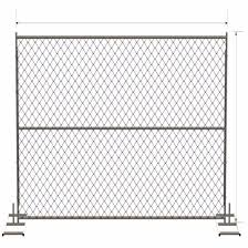 China Inexpensive Galvnanized Canada Temporary Fence With Accessories Sale On Ebay China Temporary Fencing Poratable Fence