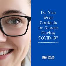 eye care during covid 19 contacts or