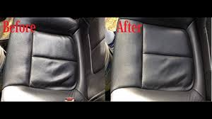 how to clean leather car seats easy